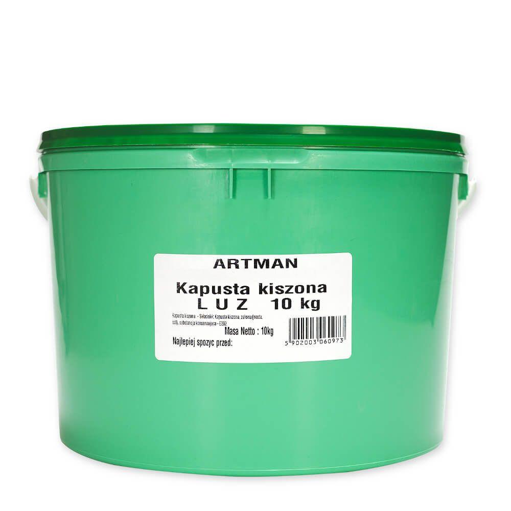 Kapusta kiszona LUZ: 10 kg